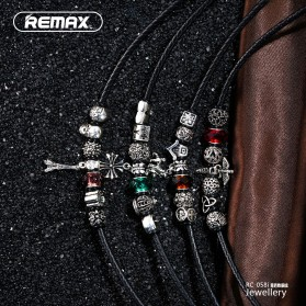 Remax Jewellery Series Kabel Lightning - RC-058i - Red - 3