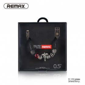 Remax Jewellery Series Kabel Lightning - RC-058i - Red - 4