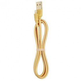 Remax Radiance Lightning Cable for iPhone - RC-041i - Golden - 1