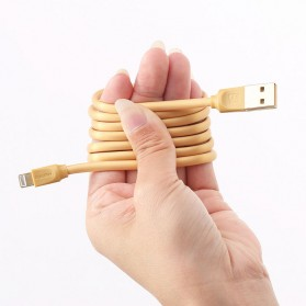 Remax Radiance Lightning Cable for iPhone - RC-041i - Golden - 4
