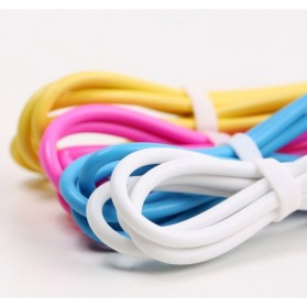 Remax Light Speed Lightning Cable 2m for iPhone RC-06i - White - 4