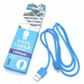 Remax Light Speed Lightning Cable 2m for iPhone RC-06i - Blue - 1