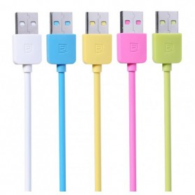 Remax Light Speed Lightning Cable 2m for iPhone RC-06i - Blue - 2