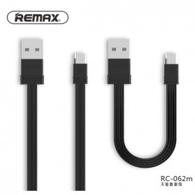 Remax Tengy 2 in 1 Micro USB Cable - RC-062m - Black