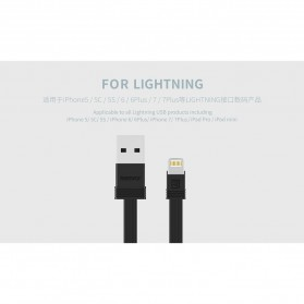 Remax Tengy 2 in 1 Lightning USB Cable - RC-062i - Black - 5