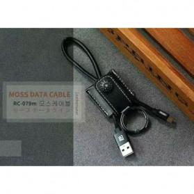 Remax Moss Series Kabel Lightning- RC-079i - Black