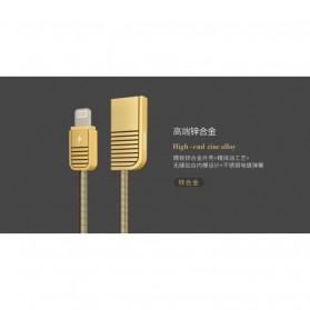 Remax Kabel Lightning untuk iPhone - RC-088i - Black - 3