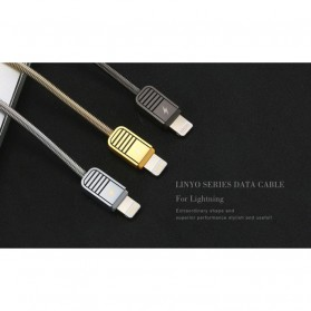Remax Kabel Lightning untuk iPhone - RC-088i - Black - 6
