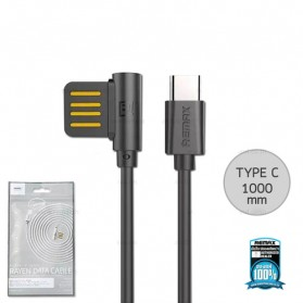 Remax Rayen Kabel USB Type C - RC-075a - Black