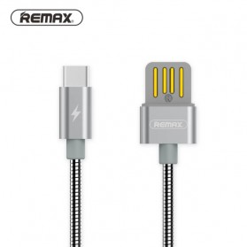 Remax Silver Serpent Kabel USB Type C - RC-080a - Silver