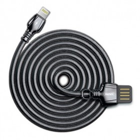 Remax King Kabel Charger Lightning - RC-063i - Black