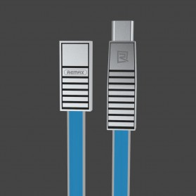 Remax Linyo 3 in 1  Kabel Micro USB + Type C  + Lightning - RC-072th - Blue