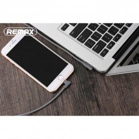 Remax Axe Series L Shape Kabel Charger Lightning 1.8 Meter - RC-083i - Black - 2