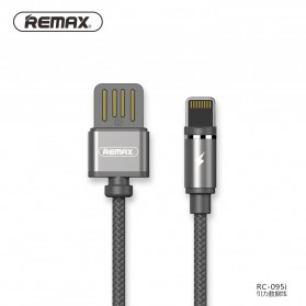 Remax Gravity Kabel Charger Magnetic Lightning - RC-095i - Black