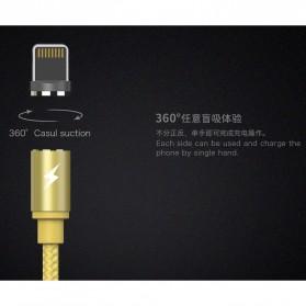 Remax Gravity Kabel Charger Magnetic Lightning - RC-095i - Black - 6
