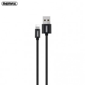 Remax Fabric Series Kabel Charger Lightning - RC-091i - Black