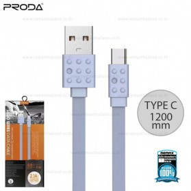 Remax Lego Series Kabel USB Type C - PC-01a - Gray