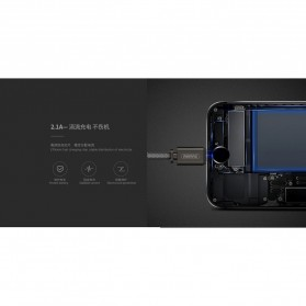 Remax Dominator Kabel USB Type C - RC-064a - Black - 2