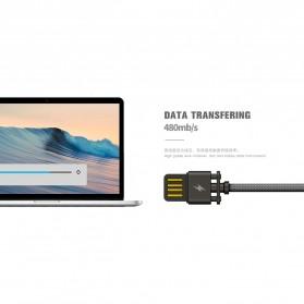 Remax Dominator Kabel USB Type C - RC-064a - Black - 3