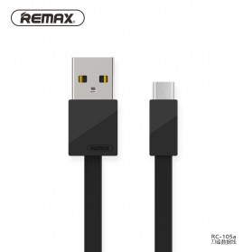 Remax Blade Kabel USB Type C - RC-105a - Black