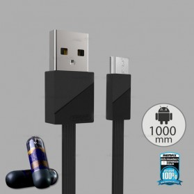 Remax Blade Kabel Micro USB - RC-105m - Black - 2