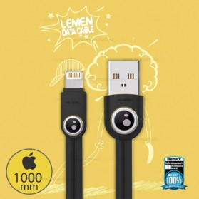 Remax Lemen Kabel Lightning - RC-101i - Black