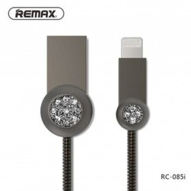 Remax Moon Kabel Charger Lightning - RC-085i - Black