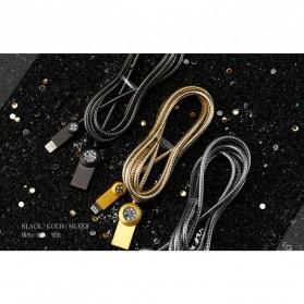 Remax Moon Kabel Charger Lightning - RC-085i - Black - 10