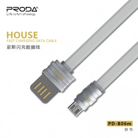 Remax Proda House Series Kabel Charger Micro USB - PD-B06m - Dark Gray