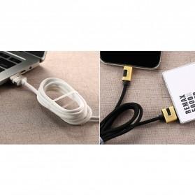 Remax Metal Series Kabel USB Type C - RC-089a - Black - 4
