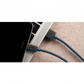 Remax Metal Series Kabel Lightning - RC-089i - Black - 3