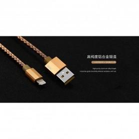 Remax Gefon Series Kabel Micro USB - RC-110m - Black - 2
