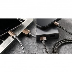 Remax Gefon Series Kabel Micro USB - RC-110m - Black - 4