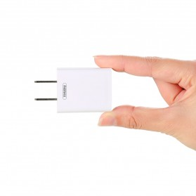 Remax Adapter USB Charger EU Plug 2.4A with Lightning - RP-U14 - White - 5