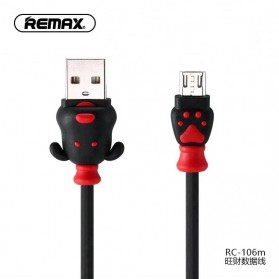 Remax Fortune Series Kabel Micro USB - RC-106m - Black