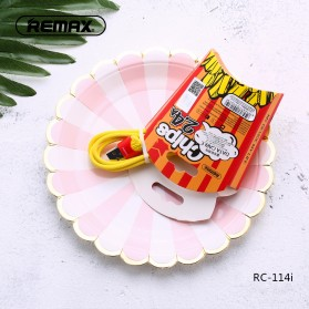 Remax Chips Series Kabel Micro USB - RC-114m - Yellow - 3