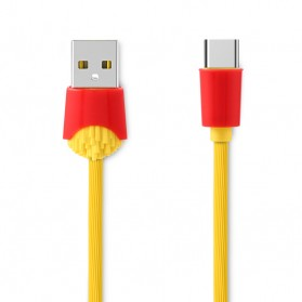 Remax Chips Series Kabel USB Type C - RC-114a - Yellow