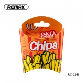 Remax Chips Series Kabel USB Type C - RC-114a - Yellow - 5