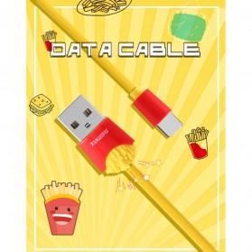 Remax Chips Series Kabel USB Type C - RC-114a - Yellow - 6