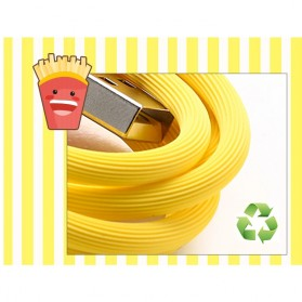 Remax Chips Series Kabel USB Type C - RC-114a - Yellow - 8