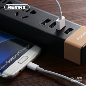 Remax Chaino Series Kabel Micro USB - RC-120m - Black - 6