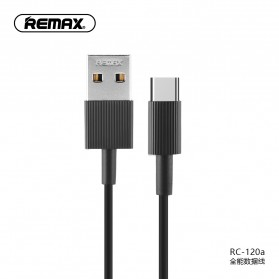 Remax Chaino Series Kabel USB Type C - RC-120a - Black
