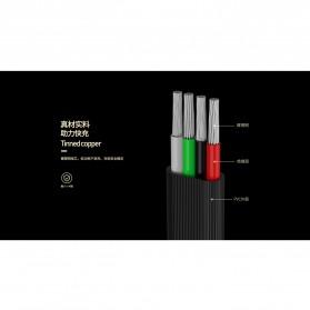 Remax Blade Series Kabel Charger Lightning 1 Meter 3A - RC-048i - Black - 5