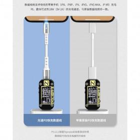 Remax Proda Light Speed Series Kabel Charger USB Type C to Lightning - PD-B24i - White - 4