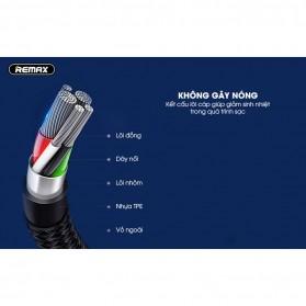 Remax Gaming Kabel Charger Lightning L Shape 3A 1 Meter - RC-155i - Black - 2