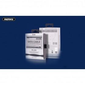 Remax Gaming Kabel Charger Lightning L Shape 3A 1 Meter - RC-155i - Black - 3