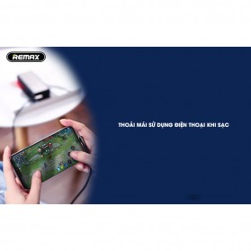 Remax Gaming Kabel Charger Lightning L Shape 3A 1 Meter - RC-155i - Black - 6