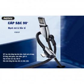 Remax Qiker Series Kabel Charger Lightning 1.2 Meter - RC-061i - Black - 3