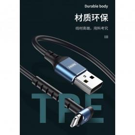 Remax Joy Series Kabel Charger Micro USB 2.4A 1 Meter - RC-100m - Black - 6