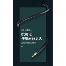Remax Joy Series Kabel Charger Micro USB 2.4A 1 Meter - RC-100m - Black - 7